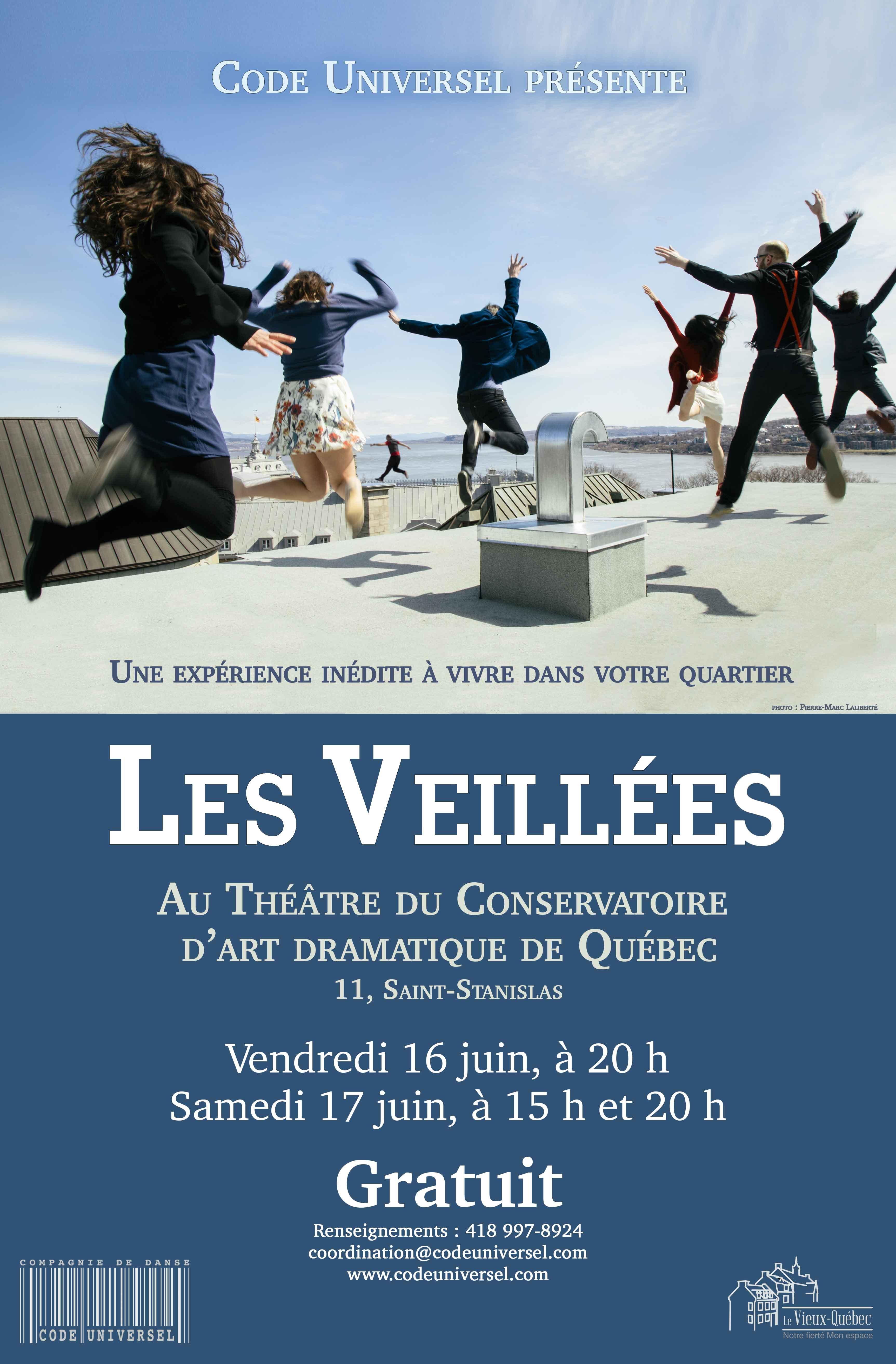 Les Veillées débarquent dans le Vieux-Québec !